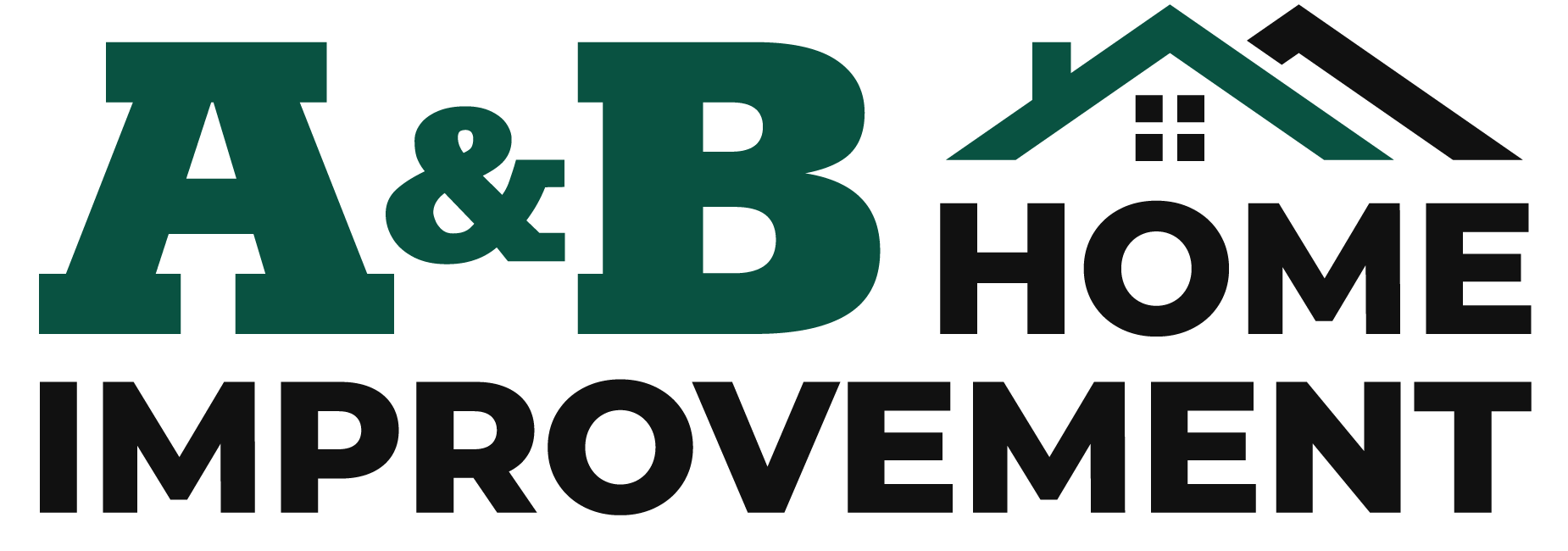 A & B Home Improvement logo