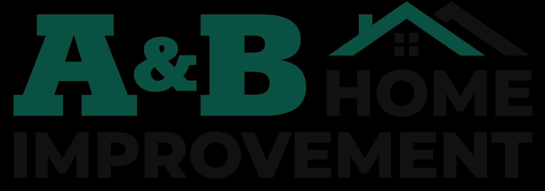 A & B Home Improvement logo